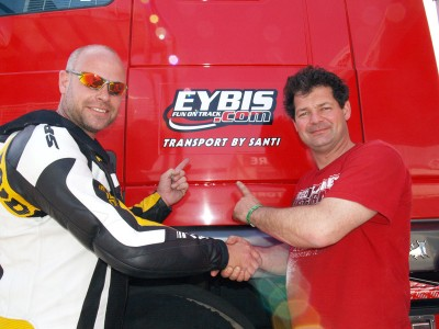 Samenwerking Eybis met Santi Transport